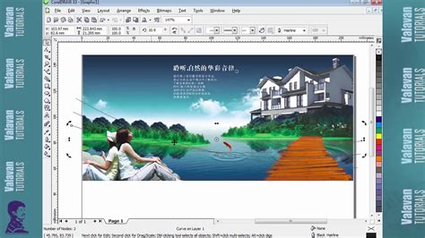 youtube tutorial corel draw x3 phhlet design in corel draw x3 tutorials youtube