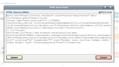 editing themes in moodle how to add twitter and facebook buttons to your moodle