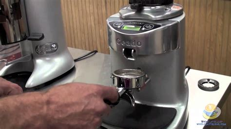 Introducing the Ceado E37 Coffee Grinder   YouTube