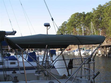 bimini boat works sailboat bimini tops and enclosures black dog design inc