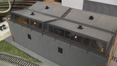 Peco Engine Shed by How To Episode 4 Engine Shed Lighting