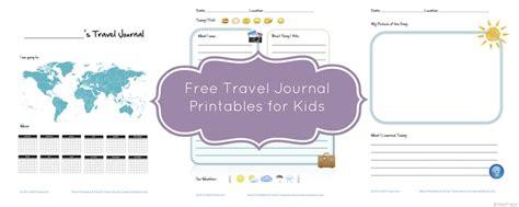 printable road trip journal free kid travel journal printable travel journal for kids
