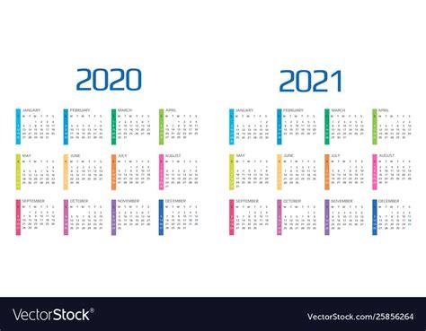 calendar    template  months vector image