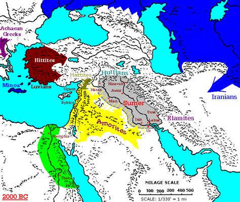 middle east map before 1900 2000 1900 bc