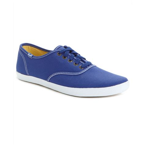 canvas sneakers mens keds chion canvas original sneakers in blue for lyst