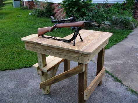 target shooting bench 25 best ideas about shooting bench on pinterest shooting table shooting range and