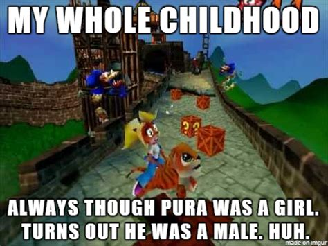 Crash Meme - crash bandicoot pura is a boy meme by krazykari on
