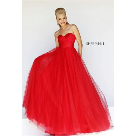 sherri hill strapless tulle and lace body con dress 11066 sale dress from sherri hill now reduced to 163 160