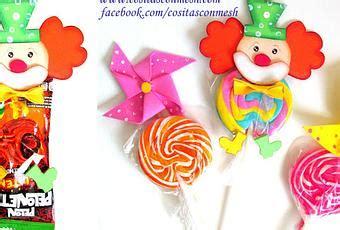 canastas para dulces foami payasitos en foami para regalar dulces a los ni 241 os paperblog