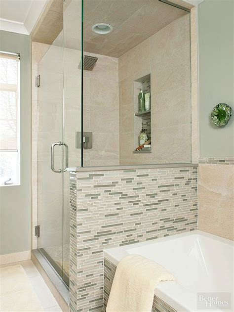 knee wall bathroom absolutely stunning walk in showers for small baths