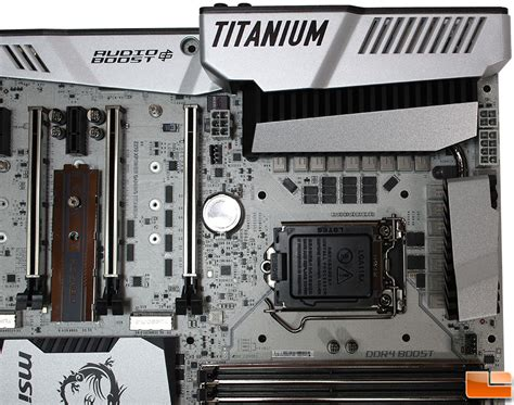 Motherboard Msi Z270 Xpower Gaming Titanium Socket 1151 msi z270 xpower gaming titanium motherboard review page