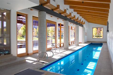 indoor lap pool indoor lap pool from aqua pro spa and pool in hailey id 83333