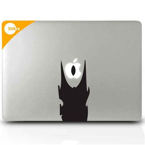 Diskon Decal Macbook Dan Laptop mac decals vinyl laptop stickers hobbit decal lord of the rings eye of sauron removable