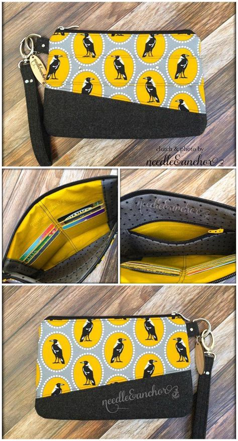 free sewing pattern zippered clutch 1000 images about free sewing patterns on pinterest