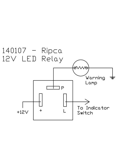 12 volt led flasher unit