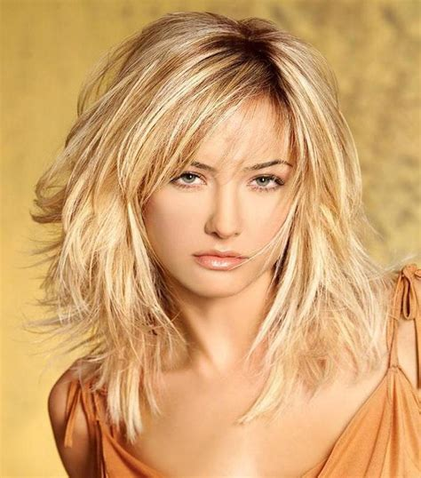 above shoulder wavy hair with bangs layered medium haircuts 2014 2015 bob haircuts