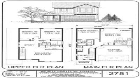 small two story house floor plans small two story house plans simple two story house plans