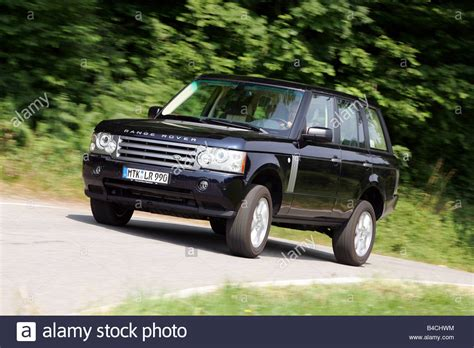 land rover range rover sport black model year 2002