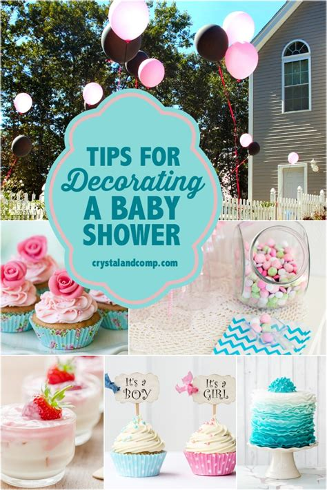 Decorating For A Baby Shower by Tips For Decorating A Baby Shower Crystalandcomp