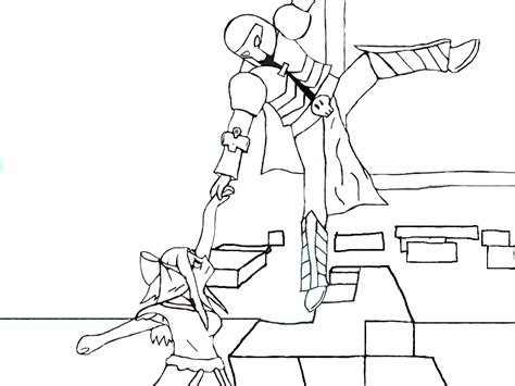 minecraft coloring pages pat and jen popularmmos and supergirlygamer coloring page by chibioka