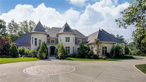 chateau homes one of indian hill s most chateau esque homes is on the