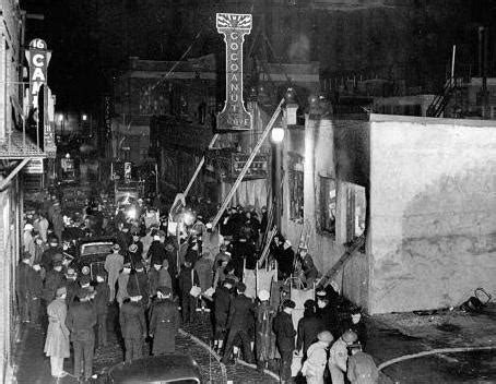 the story of the cocoanut grove fire