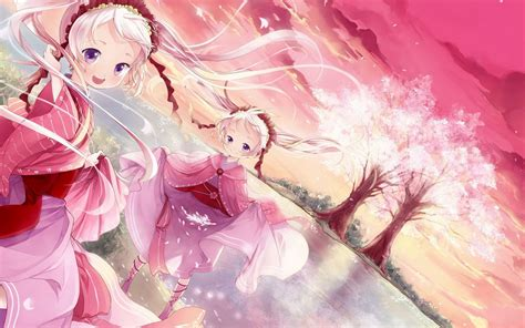 Wallpaper Anime Twins | anime sisters 686949 walldevil