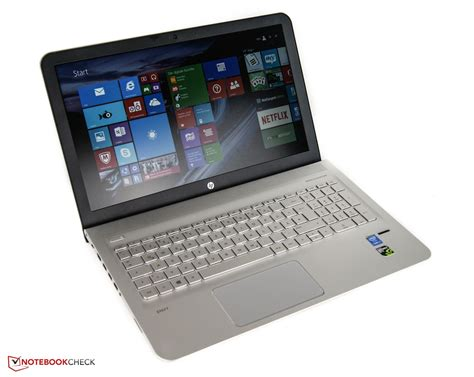 test laptop hp envy 15 ae020ng notebook review notebookcheck net reviews