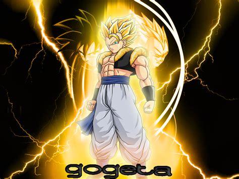 wallpaper dragon ball gogeta ssj gogeta fusion saga vs super sondow super sonic and