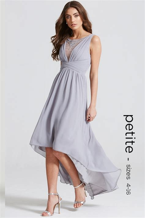 Dipped Hem Dresses by Grey Dipped Hem Maxi Dress From Uk