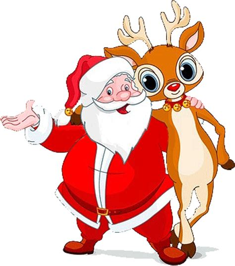 Christmas clip Art Images | Free Christmas Clip Art | Free ... Free Clip Art Santa And Reindeer