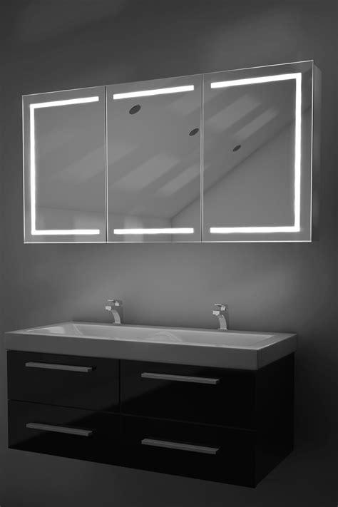 bathroom cabinet led eliza led bathroom cabinet with demister pad sensor shaver k380 ebay