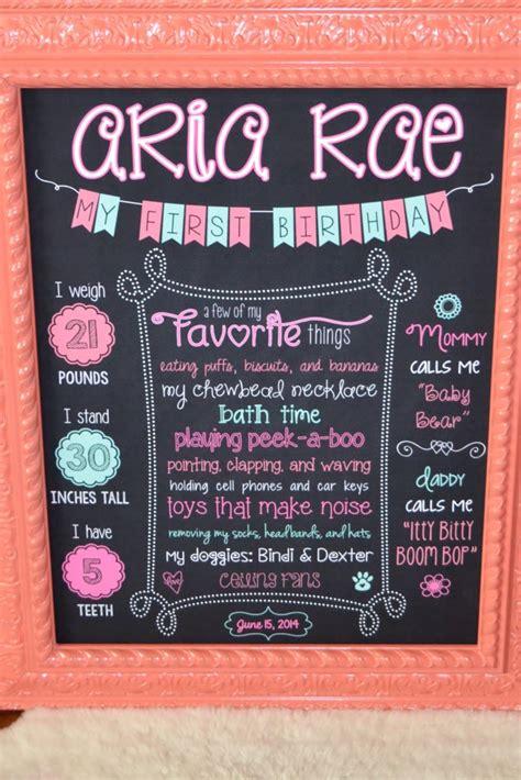 diy chalkboard birthday s 1st birthday project nursery