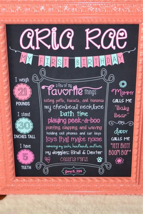 diy chalkboard sign birthday s 1st birthday project nursery