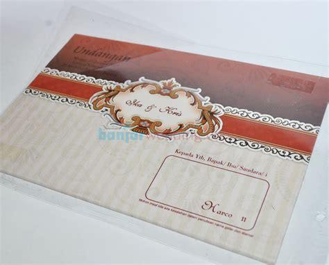 Murah Meriah Plastik Opp Undangan 11 5 X 25 Cm undangan pernikahan hardcover murah hrc11 banjar wedding banjar wedding