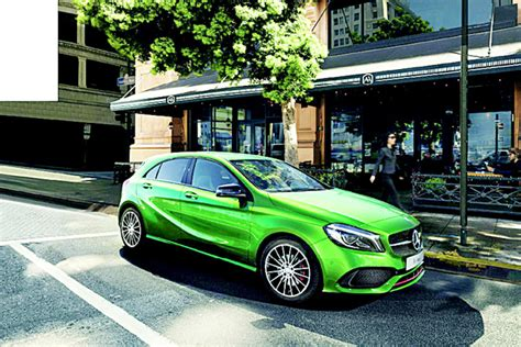 green mercedes a class generation mercedes a class arrives in kuwait