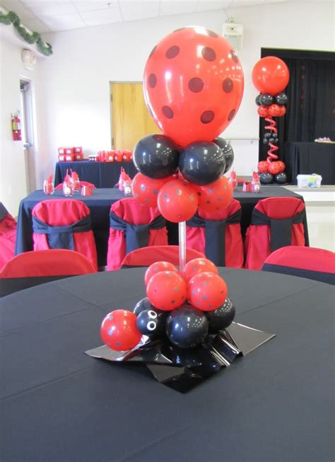 party people event decorating company lady bug