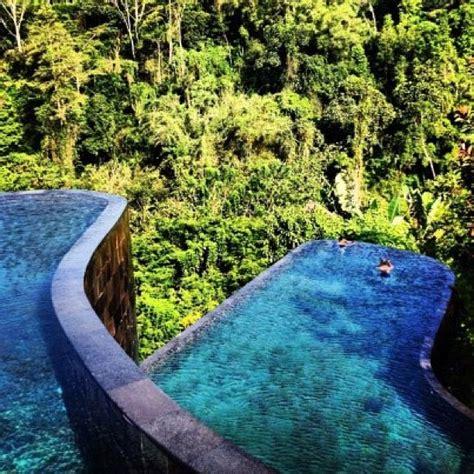 hanging infinity pools in bali best 25 ubud hanging gardens ideas on pinterest