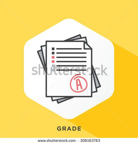 Outline Offset Color by Stack Of Papers Icon With Grey Outline And Offset Flat Colors Modern Style Minimalistic
