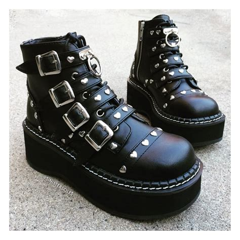 Emily Shoes demonia emily 315 s ankle boots demonia shoes