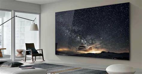 samsung unveils massive   tv called  wall fox