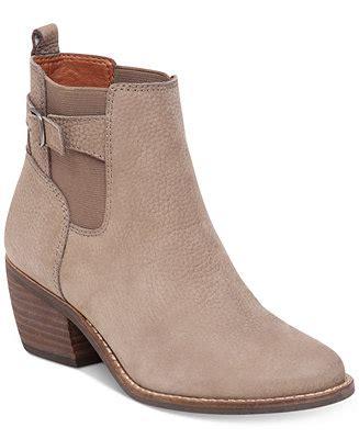 macy s lucky brand boots lucky brand s khoraa block heel booties boots