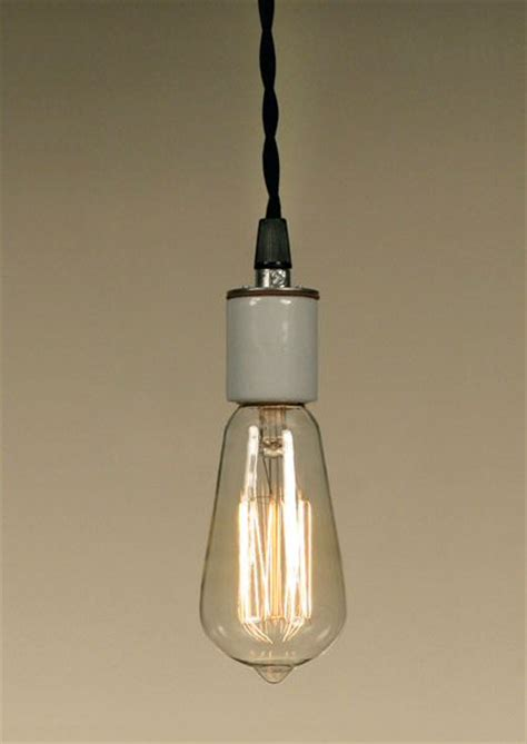 Pendant Light Bulb Socket Single Porcelain Socket Pendant L Light Lighting Fixtures