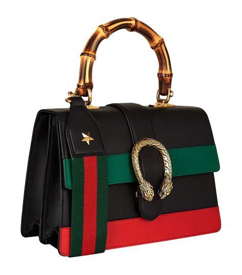 Gucci Dionsyus Bamboo Mini Bags 6345 lyst gucci small dionysus stripe bamboo handle bag