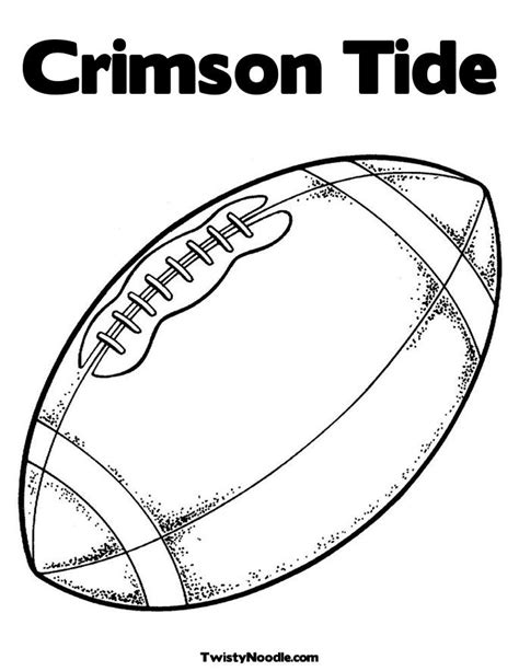 Alabama Football Free Coloring Pages Alabama Football Coloring Pages