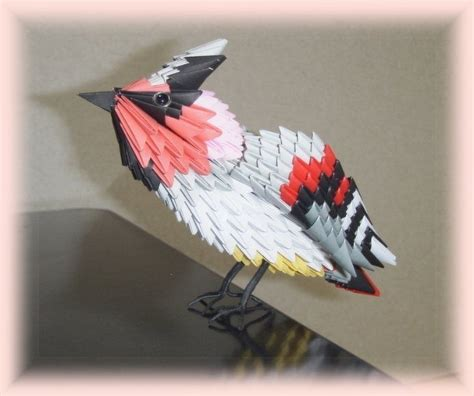 3d Origami Bird - pajaro kumitate 3d origami origami and 3d
