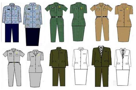 Baju Hitam Putih Untuk Pns gambar seragam pns baru berdasarkan permendagri no 68 tahun 2015 guru