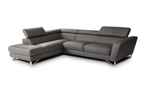 Modern Sectional Sofa Sparta Italian Leather Modern Sectional Sofa