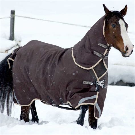horseware rambo duo turnout rug rambo duo 2 in 1 turnout rug heavy or medium brown redpost equestrian