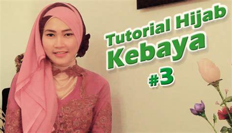 tutorial hijab kebaya wisuda tutorial hijab untuk kebaya 3